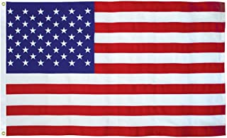 American Flag 5x9.5 Ft 2-Ply Polyester Presidential Series Sewn 5'x9.5' US Flag