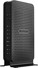 (Renewed) NETGEAR C3700-100NAR C3700-NAR DOCSIS 3.0 WiFi Cable Modem Router with N600 8x4 Download speeds for Xfinity from Comcast, Spectrum, Cox, Cablevision