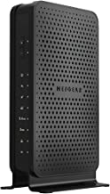 NETGEAR C3700-100NAR C3700-NAR DOCSIS 3.0 WiFi Cable Modem Router with N600 8x4 Download speeds for Xfinity from Comcast, Spectrum, Cox, Cablevision (Renewed)