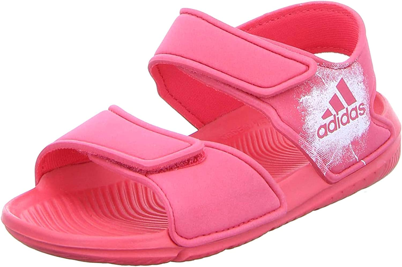 Pulido empresario Adaptar  Amazon.com | adidas Girls Lifestyle AltaSwim Pool Sandals Beach Strap  BA7849 Slides Summer | Sandals