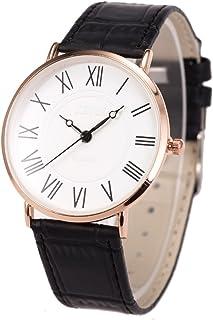 Wrist Watch Mens Ultra-Thin Minimalist SIBOSUN Quartz Leather Strap Classic Roman Numerals Anolog