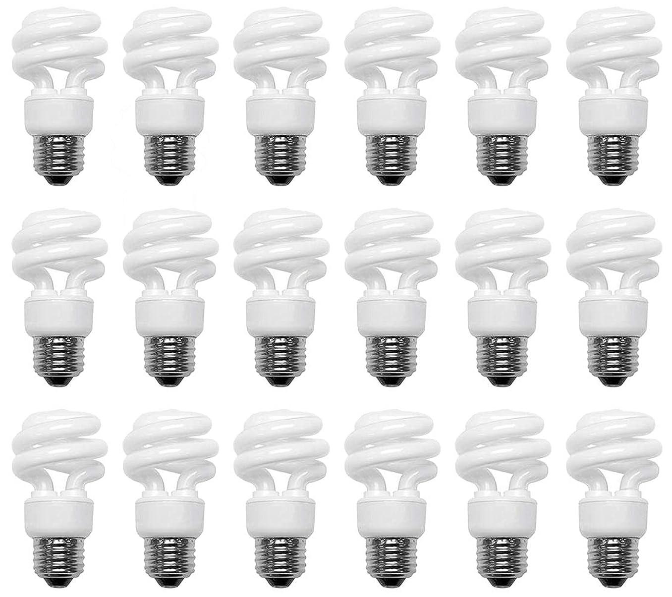 40 Watt CFL Daylight (5000K) Spiral 18 Pack