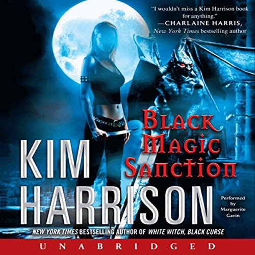 Black Magic Sanction     Rachel Morgan, Book 8              By:                                                                                                                                 Kim Harrison                               Narrated by:                                                                                                                                 Marguerite Gavin                      Length: 19 hrs and 6 mins     3,093 ratings     Overall 4.6
