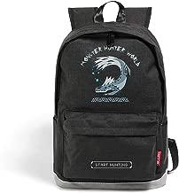 Monster Hunter Games Cosplay Backpack Shoulder Bags Daypack