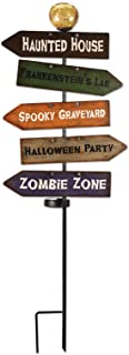 Sunset Vista Designs 14839 Haunted House Garden Stake, Directional, Solar Powered Light