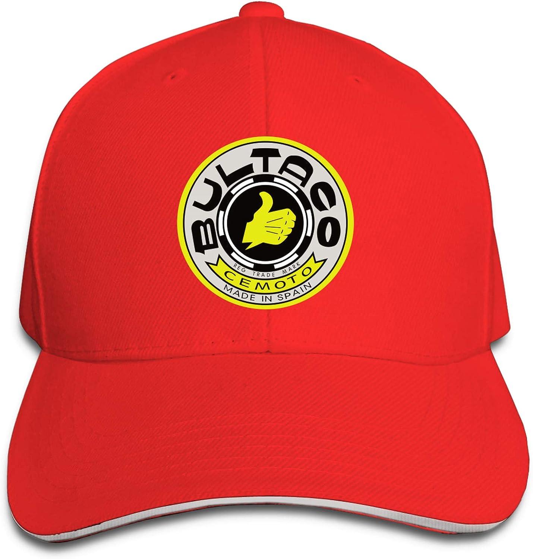 Bultaco-Logo Men & Women Casquette Fashion Baseball Hat Adjustable Dad Hat