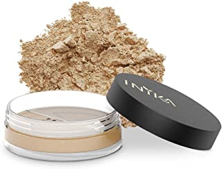 INIKA Loose Mineral Foundation Powder SPF25 All Natural Make-Up Base, Concealer, Flawless Coverage, Water Resistant, Hypoallergenic, Halal, 8g (0.28 oz) (Trust)