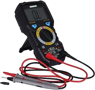 UKCOCO Multímetro digital, alta precisión True RMS Voltage Detector Voltaje Ampere Resistance Tester Pen Meter