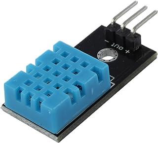 SODIAL(R) Sensor de Humedad DHT11 DHT-11 Sonda de temperatura digital Moudle para Arduino PIC