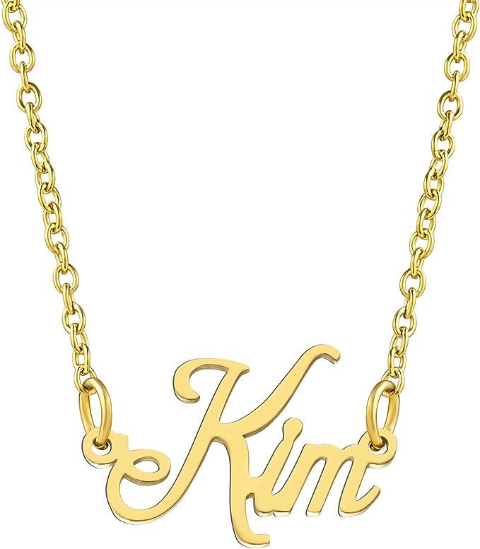 KISPER 18K Gold Plated Stainless
