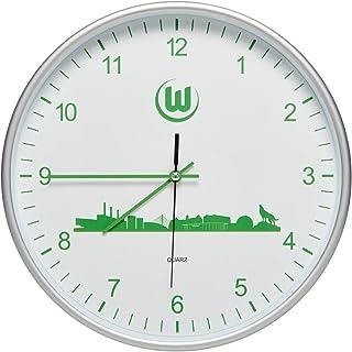 VfL Wolfsburg Wanduhr Skyline