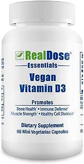 Doctor Formulated Vegan Vitamin D3 Supplement (cholecaliferol) 1000 IU - Helps Maintain Healthy Bones, Strong Muscles, Tee...