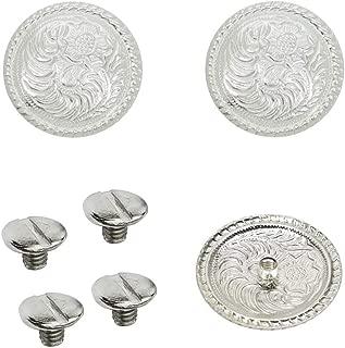 1 Set of Silver Bright 1