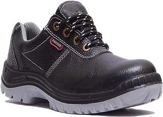 Hillson TC007025081 Panther ISI Marked Safety Shoes (Black, Size 7 UK)