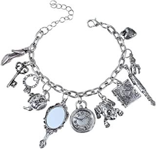Evereena Silver Beads Bracelet for Girls Luxury Christmas Tree Charm Womens Jewelry