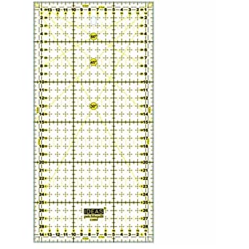 Alfa A602100000-Regla de Patchwork 30x30 cm: Amazon.es: Hogar