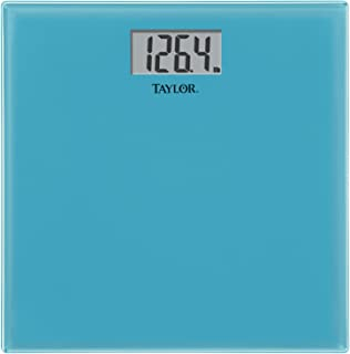 Taylor Precision Products Glass Digital Bath Scale (Blue)