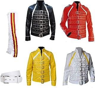 Freddie Mercury Concert Queen Synthetic Jackets