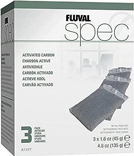 fluval spec carbon filter media 3 pack