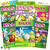 Paas Easter Egg Decorating Kit Variety Pack -- 6 Deluxe Egg Coloring Kits with...