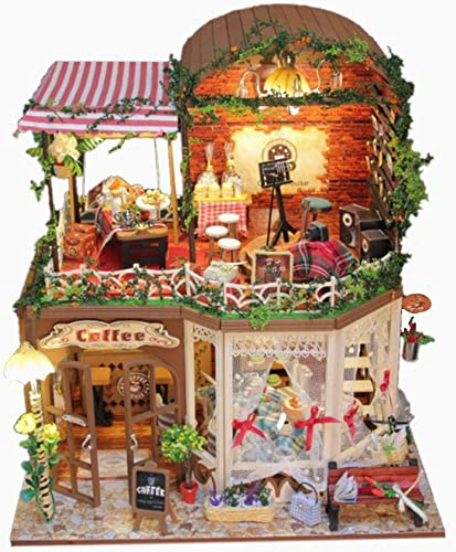 marcas de diseñadores baratos Kit de casa de muñecas en miniatura y y y juguetes 3D de madera, muebles para casa style 5  precios mas bajos