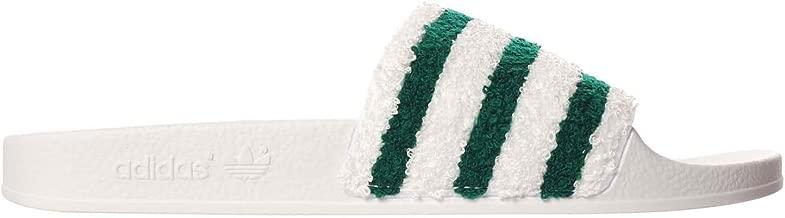 adilette green white