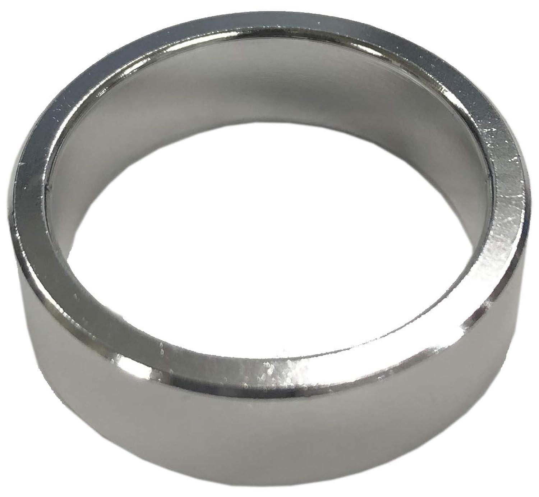 DIA COMPE(ダイア コンペ) ヘッドコラム アルミニウムスペーサー 1-1/8 (φ28.6) 10mm シルバー