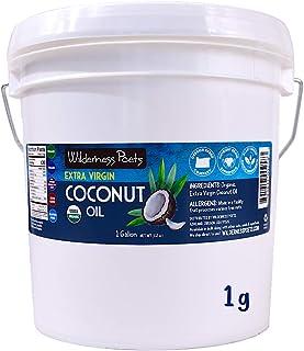 Wilderness Poets Coconut Oil, Extra Virgin & Organic (112 oz - 1 Gallon)