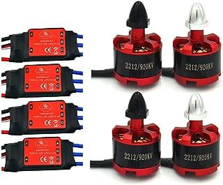 DishyKooker 7.4V 350 mah Bater/ía de Litio para MJX X401H X402 Accesorios de Aviones de Cuatro Ejes Bater/ía de helic/óptero de Control Remoto 4 Piezas Veh/ículos de Molde Fundido Aeronaves Drones