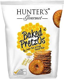 Hunter's Gourmet Baked Pretzos Honey Mustard, 160 g