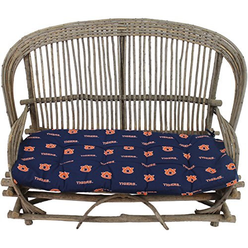 Save %21 Now! College Covers Auburn Tigers Settee Cushion