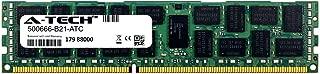 A-Tech 16GB Replacement for HP 500666-B21 - DDR3 1066MHz PC3-8500 ECC Registered RDIMM 4rx4 1.5v - Single Server Memory Ram Stick (500666-B21-ATC)
