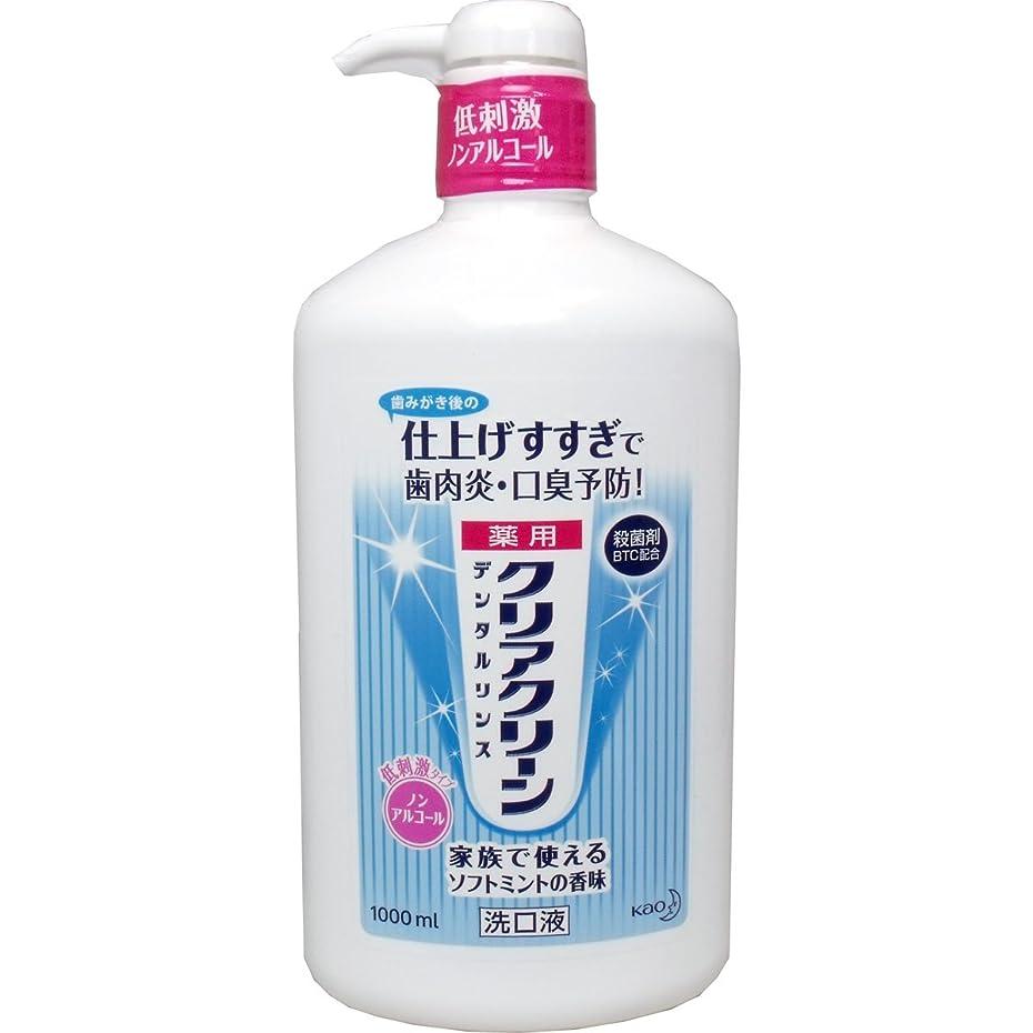 浮浪者可決パンダ【まとめ買い】クリアクリーンデンタルリンス 1000ml ×2セット