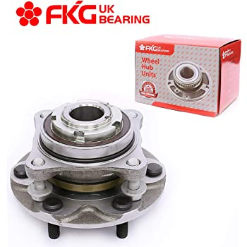 FKG 515040 (2WD Only) Front Wheel Bearing Hub Assembly for 05-19 Toyota Tacoma, 03-19 Toyota 4Runner, 07-09 Toyota FJ Cruiser, 05-17 Toyota Hilux, 6 Lugs