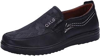 ZhansanFM Chaussures mocassin en cuir pour homme Chaussures basses respirantes Chaussures d'affaires Chaussures basses en ...