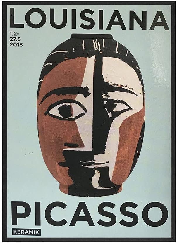 Decoración del hogar, póster de estilo Retro, impresión artística de pared, pintura de Picasso, imagen artística familiar, pintura en lienzo sin marco A4 50x75cm