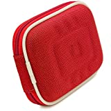 Red Eva Hard Shell Protective Carrying case Cover for Diabetic Organizer Carrying Case, Kit