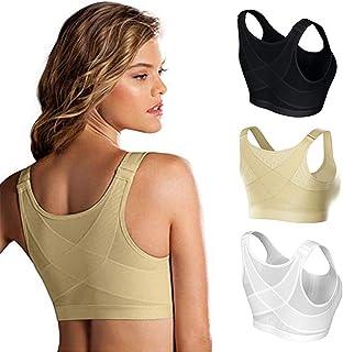 Bestsmile Posture Corrector Lift Up Bra Women Shockproof Sports Support Fitness Vest Bras Breathable Underwear Cross Back ...