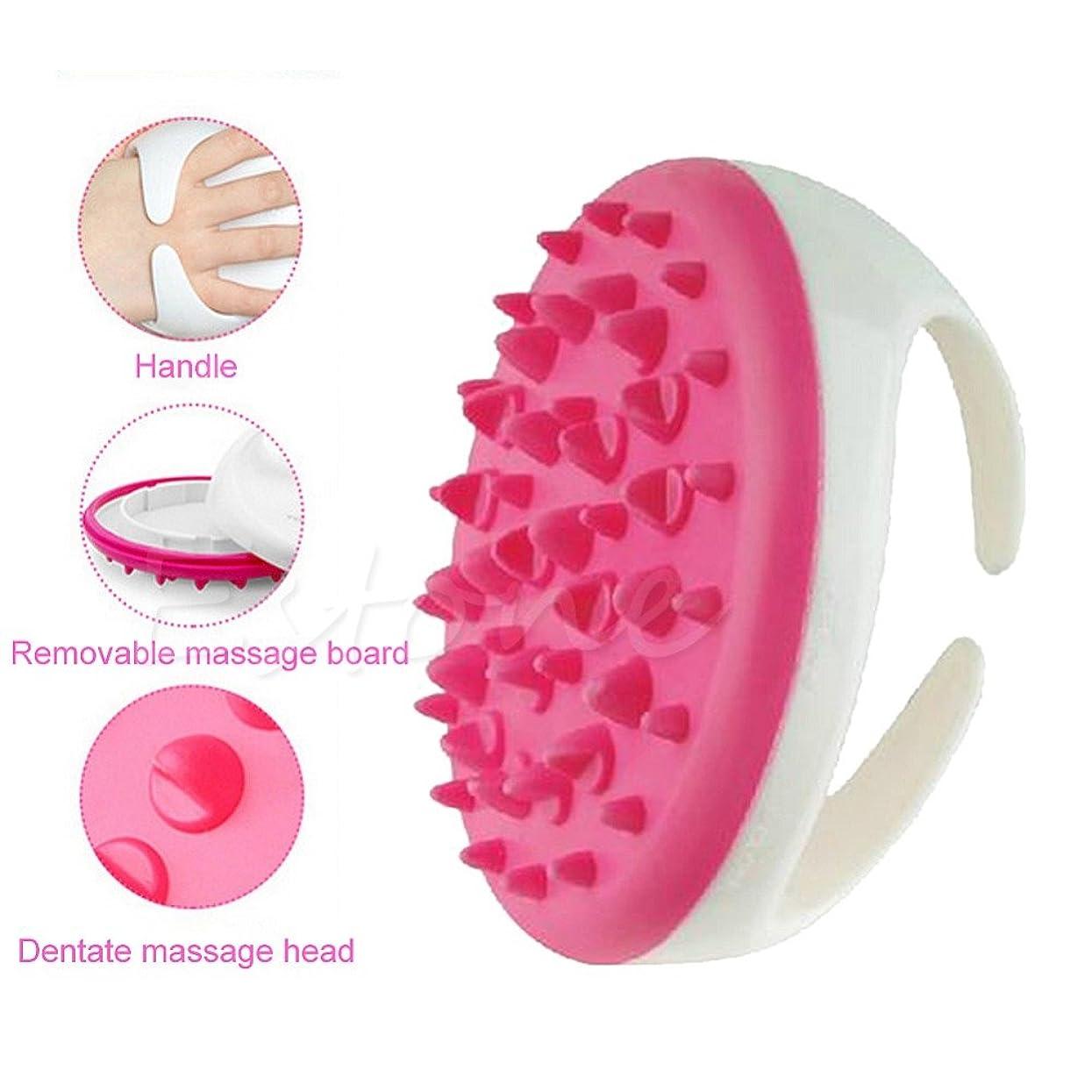 ソーシャルスパンメッセージNew Useful Bath Shower Body Anti Cellulite Massager Brush Glove Full Body