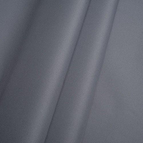 Erstklassiger Polyester Oxford 250D 1lfm - Wasserabweisend, Winddicht, Outdoor Stoff, Gartenmöbel Stoff (Grau)
