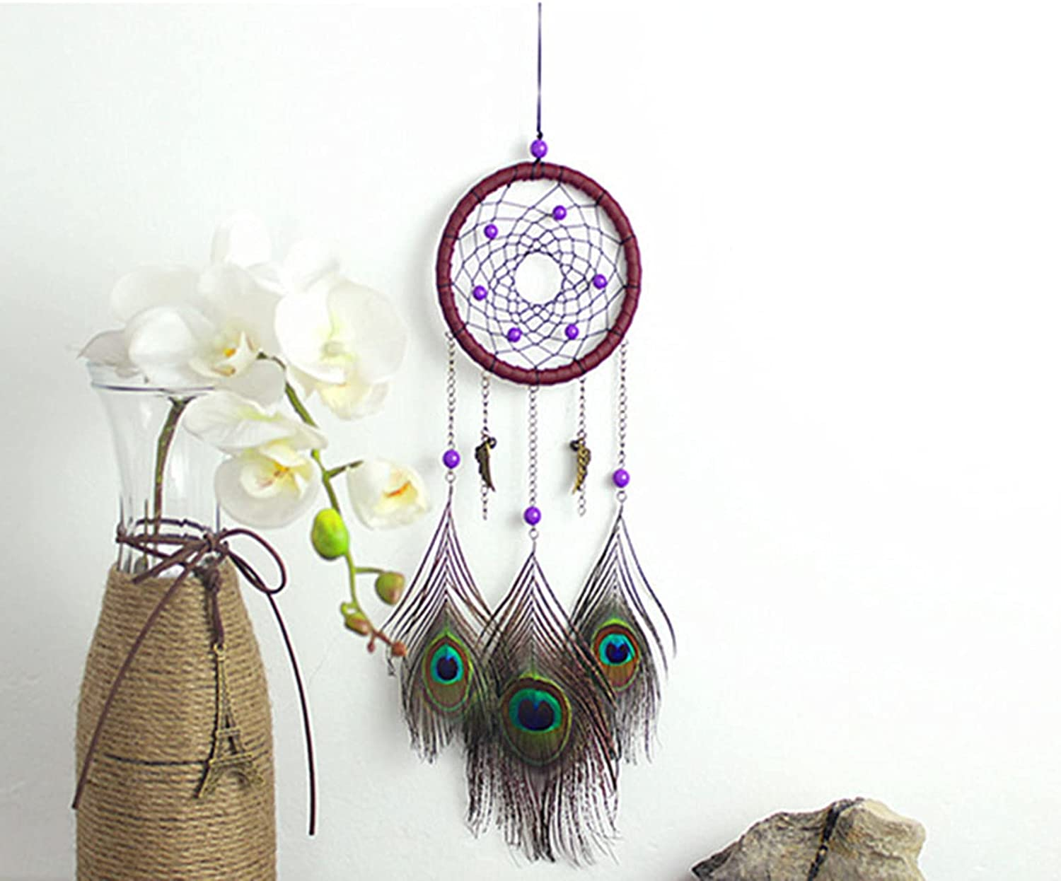 OACPCAO Ins Southeast Asia Peacock Dream Wind Chim Bells Nashville-Davidson Mall Mail order Catcher