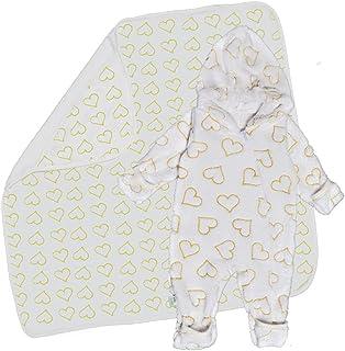 بيبي شورا بدلة أطفال فايبر نباتية للجنسين -3-6 أشهر