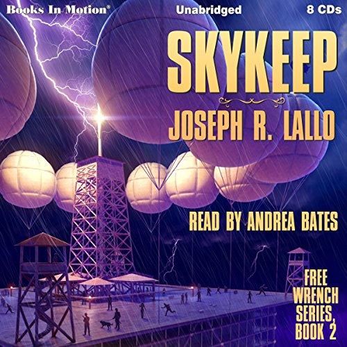 Skykeep audiobook cover art