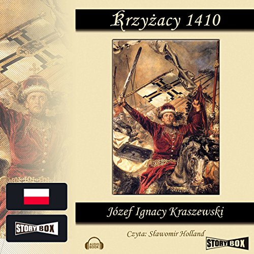 Krzyzacy 1410 audiobook cover art