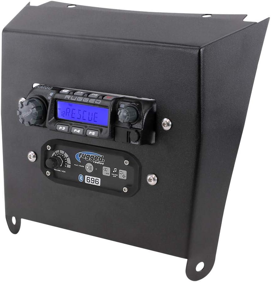 Rugged Radios MT-KRX-CM-RM60 Mobile Mount Intercom Ranking TOP16 Some reservation Brack Radio