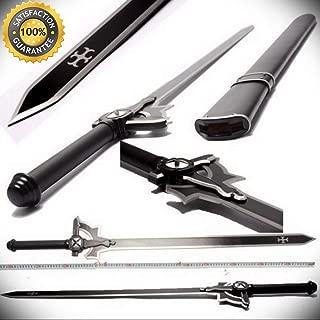 Sword Art Online Steel Handle & Blade Replica v2 Kirigaya perfect for cosplay outdoor camping