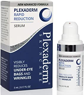 Plexaderm Rapid Reduction Eye Serum - New Advanced Formula - Visibly Reduce Under-Eye Bags, Wrinkles, Dark Circles, Fine Lines & Crow's Feet Instantly