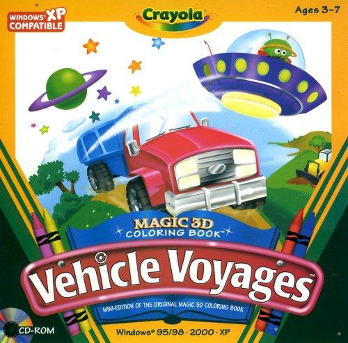 Price comparison product image Crayola Vehicle Voyages - 3D Color Book