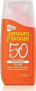 Protetor Solar Loção 110Ml Fps50 Unit, Cenoura e Bronze