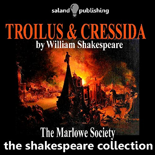 Troilus & Cressida audiobook cover art